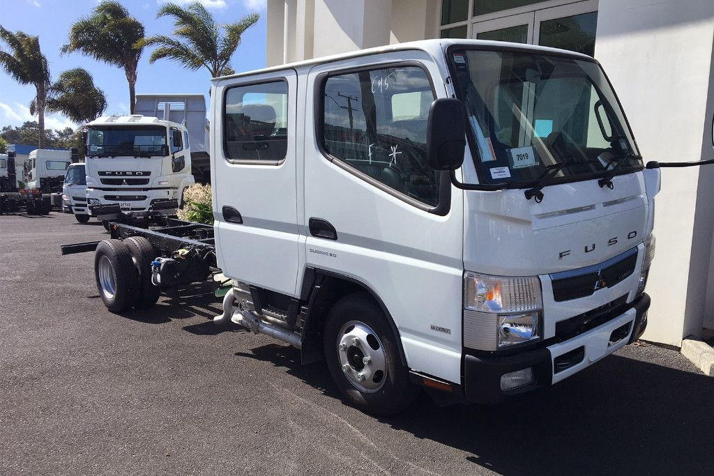 CANTER 516 CITY CREW CAB & CHASSIS 2020