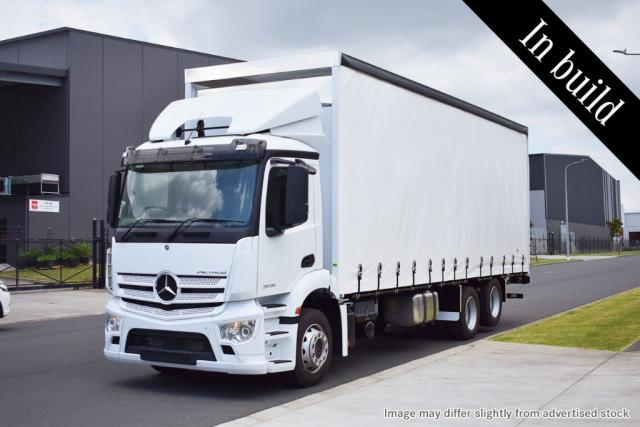 Actros 2635 Curtainsider 2021